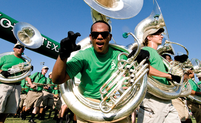 Mean Green Marching Band