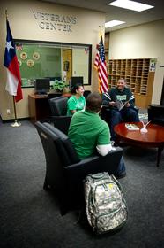 UNT Veterans Center (Photo by Gary Payne)