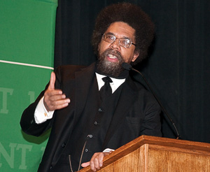 Cornel West (Photo by Mike Woodruff)