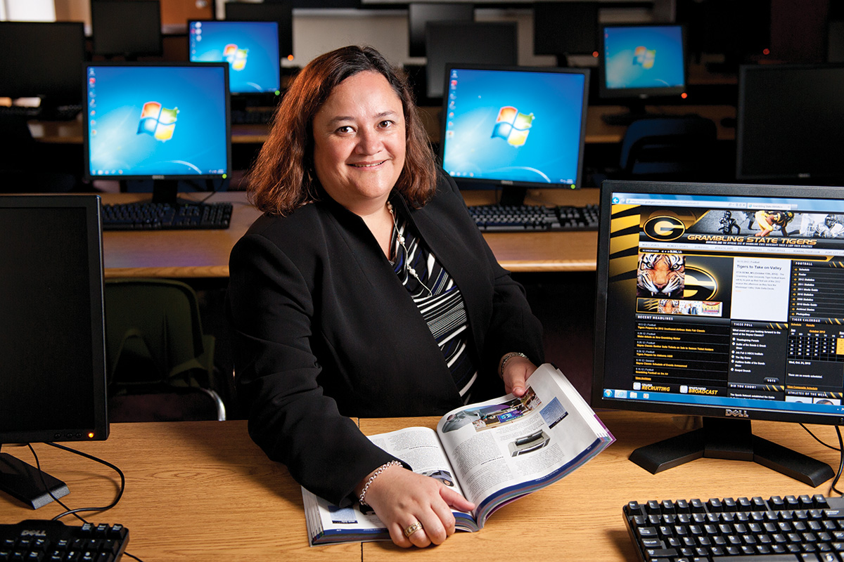 Adriana D'Alba ('12 Ph.D.) (Photo by Jonathan Reynolds)