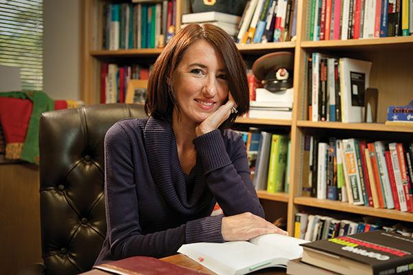 Julie Harrelson-Stephens ('03 Ph.D.) (Photo by Jonathan Reynolds)