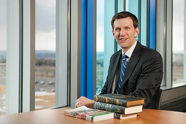 Steve Liebel ('12 Ph.D.) (Photo by Jonathan Reynolds)