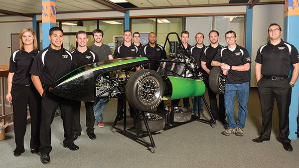 Mean Green Racing team (Photo by Michael Clements)