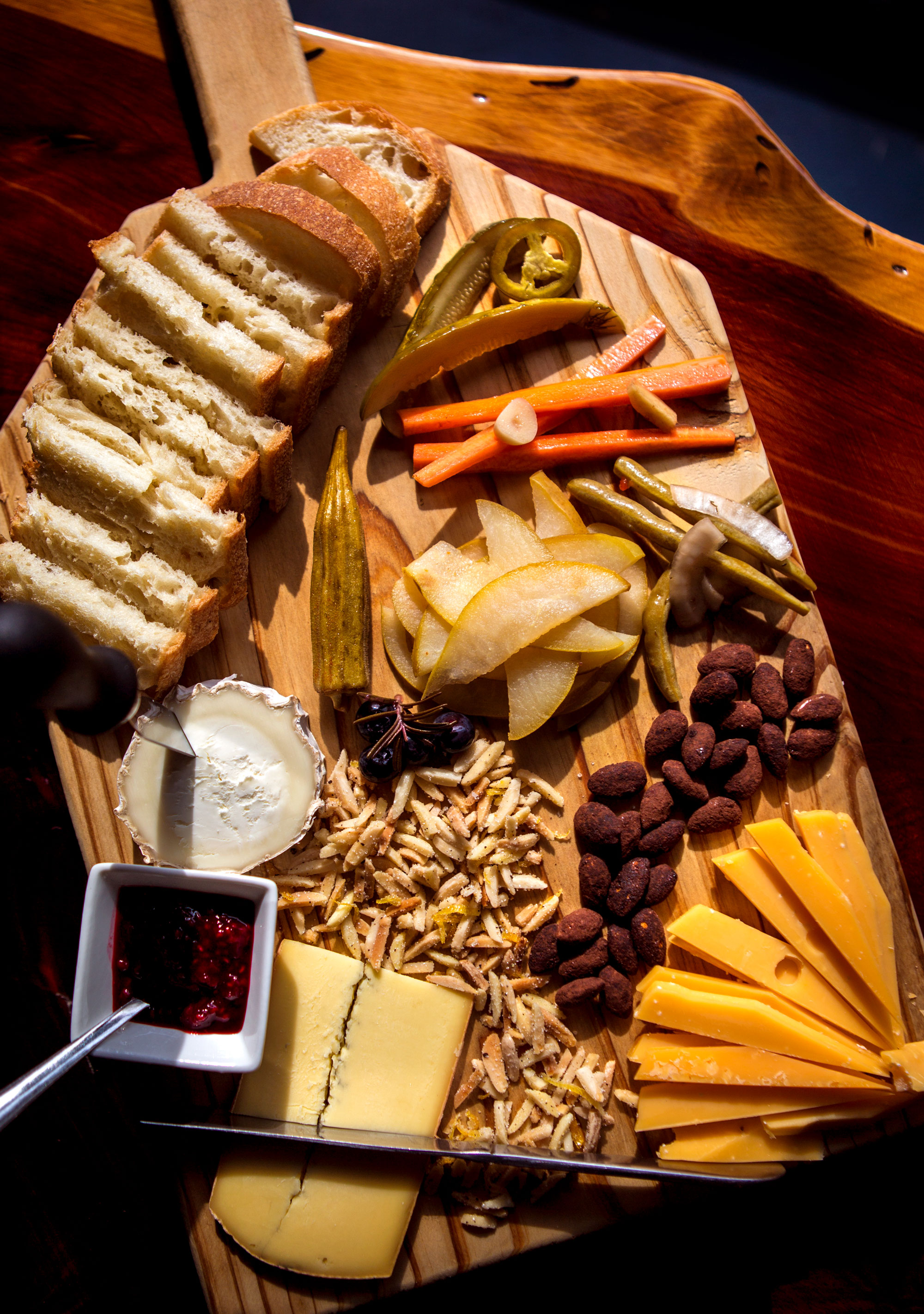 A cheese board from Ten:One.