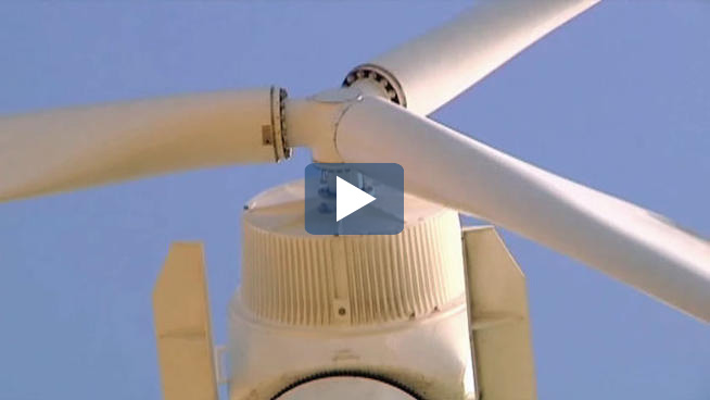 Video capture of the UNT wind turbines