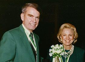 Alfred and Johanna Hurley