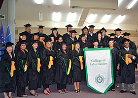 This summer, 31 students earned degrees from the UNT College of Information's online master's degree program in library science through LEAP: Library Education for the U.S.-Affiliated Pacific. (Photo by Karleen Manuel Samuel)