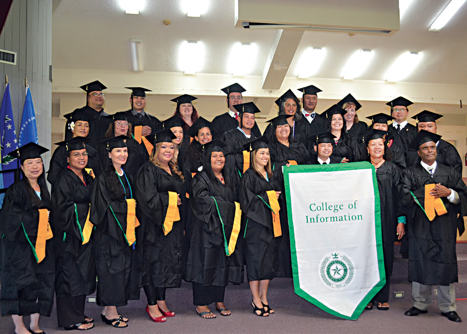 Global Connection Pacific Islands Graduates North Texan