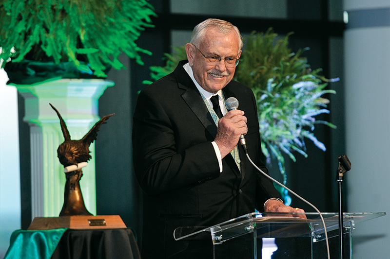 UNT President V. Lane Rawlins (Photo by Michael Clements)