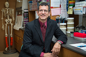 William Watson ('98 M.S., '10 Ph.D.) ( Photo by Ahna Hubnik)