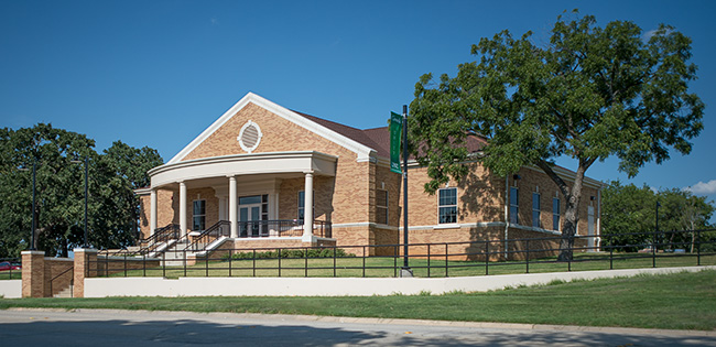 UNT Greek Life Center (Photo by Ahna Hubnik)