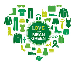 Love your Mean Green advertisement