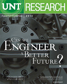 2014 UNT Research magazine cover