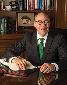 UNT President Neal Smatresk (Photo by Angilee Wilkerson)