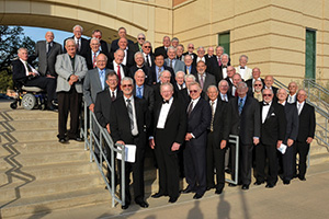 Members of the Geezle fraternity (Photo by Gary Payne)