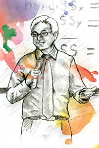 Pradit Wanarat ('94 Ph.D.), President of the National Institute of Development Administration in Bangkok, Thailand, in Asia.