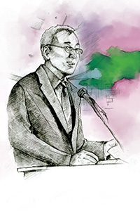 Tolkunbek Abdygulov ('07 M.P.A.), Governor of the National Bank of the Kyrgyz Republic (Central Bank) in Central Asia.