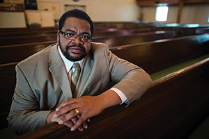 Rev. Kyev Tatum ('91) (Photo by Lee Stone)