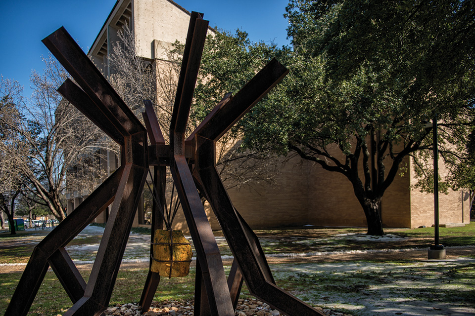 Unt S Art On Campus The North Texan