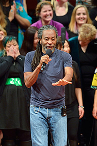 Bobby McFerrin (Photo by Michael Clements)
