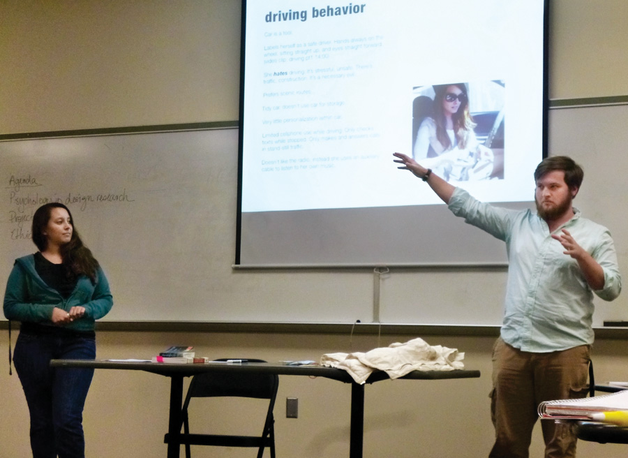 unt anthropology students examine drivers' behavior for nissan, Powerpoint templates