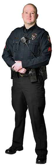 Sgt. Jeremy Polk (Photo by Michael Clements)