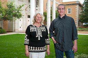Shelley Cushman and Matthew Bourbon (Photo by Gary Payne)