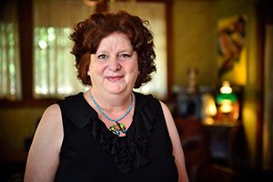 Annetta Ramsay ('82 M.S., '89 Ph.D.) (Photo by Michael Clements)