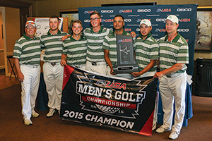 UNT men's golf team (Photo by David Pyke)