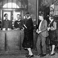 1923 library scene