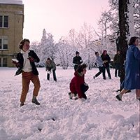 1963 snowball fight