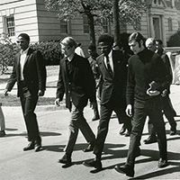1968 Martin Luther King march