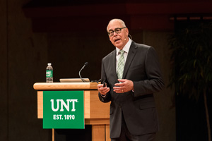 UNT President Neal Smatresk (Photo by Ahna Hubnik)