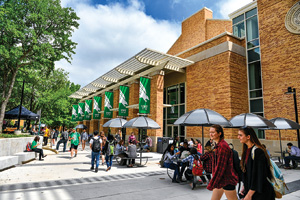 UNT's 2016 Union Fest celebrates the opening of the new University Union (Photo by Michael Clements)