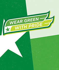 2016 Wear Green with Pride campaign