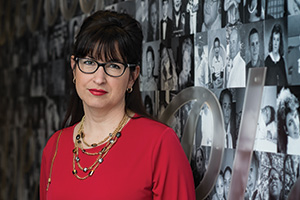 Amy George ('95), senior vice president of giving, marketing and communications with MADD (Photo by Ahna Hubnik)