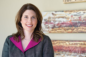 Suzanne Smith ('94 TAMS), founder and director of Social Impact Architects (Photo by Ahna hubnik)