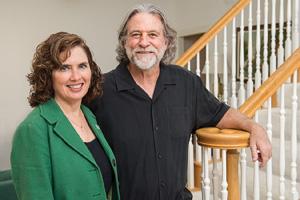 Janet ('83 M.B.A.) and Rob Pittman ('85 M.B.A.) (Photo by Ahna Hubnik)