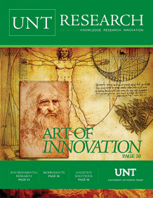 2016 UNT Research cover