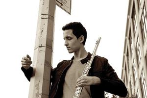 Chris Reza ('10) (Photo by Kevin Chavez)