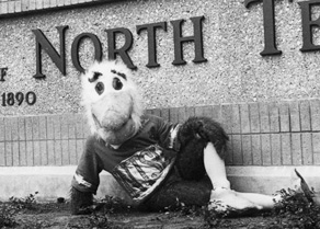Eppy as NTSU became UNT