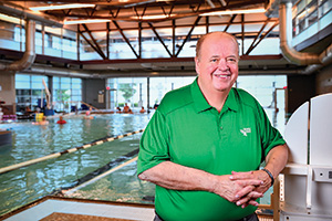 Rick Herold ('84, '85 M.S.), director of Grand Prairie's parks, arts and recreation department (Photo by Michael Clements)