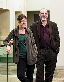 Melinda Levin and Joseph Klein (Photo by Ahna Hubnik)