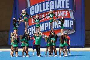 North Texas Cheerleaders (Photo by Jack Scott)