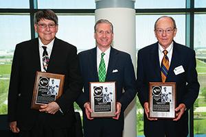Bruzzy Westheimer, G. Brint Ryan and Jim McNatt (Photo by Rick Yeatts)
