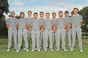 Men's golf team (Photo by Rick Yeatts)