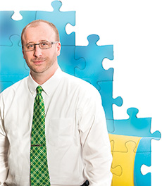 Michael Tucker '01, '05 M.Ed.) is an autism consultant for Education Service Center Region 11 in Texas.