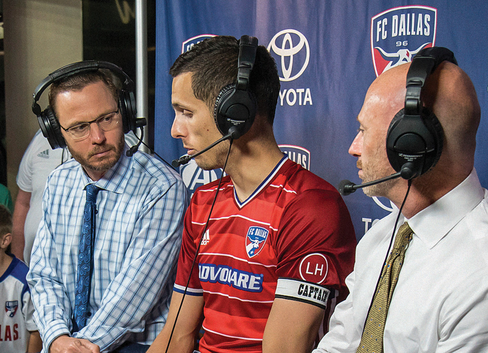 Mark Followill, left (Photo courtesy of FCDallas.com)