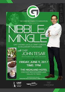 Nibble & Mingle promotional image