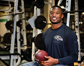 Zach Orr ('13) (Photo by Michael Clements)